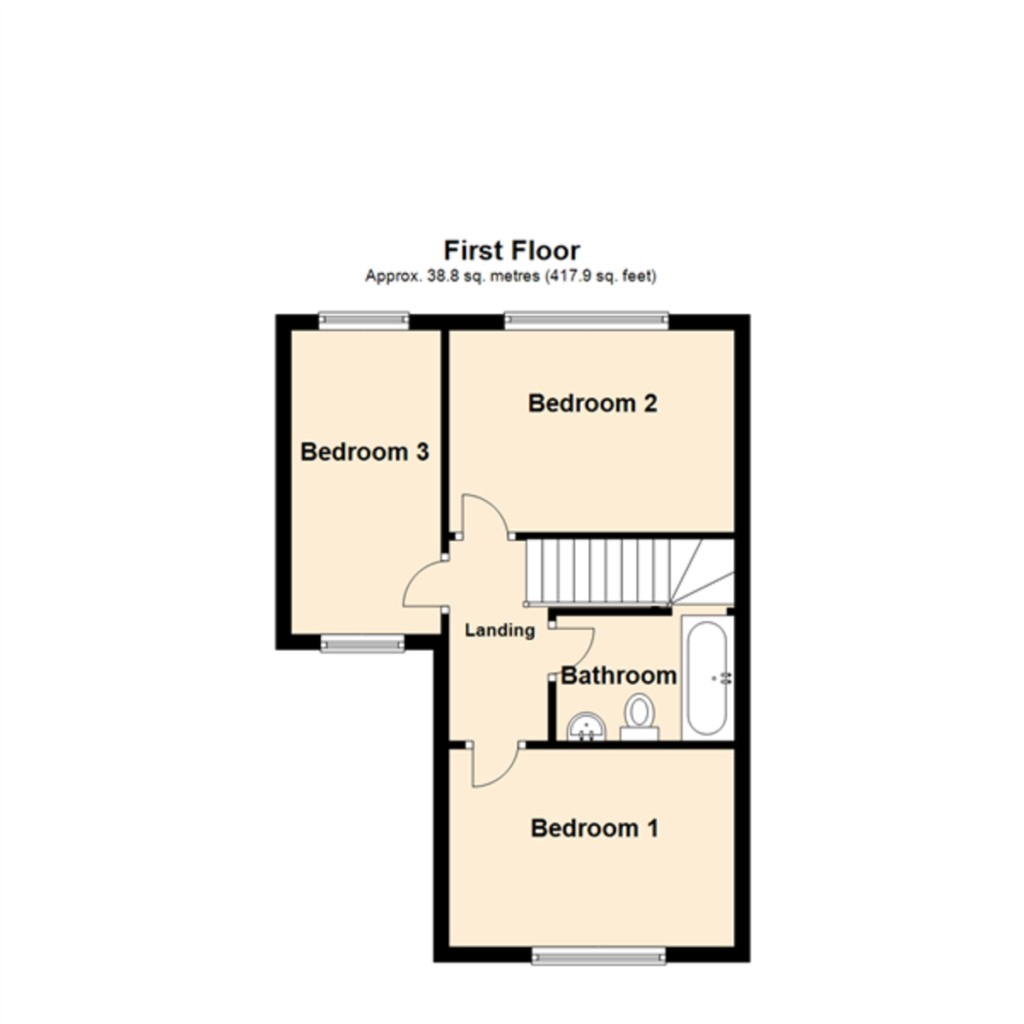 Floorplans For Evergreen Drive, Hull
